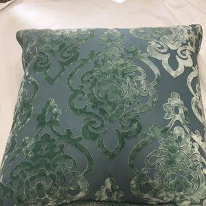 Euro velvet pillow